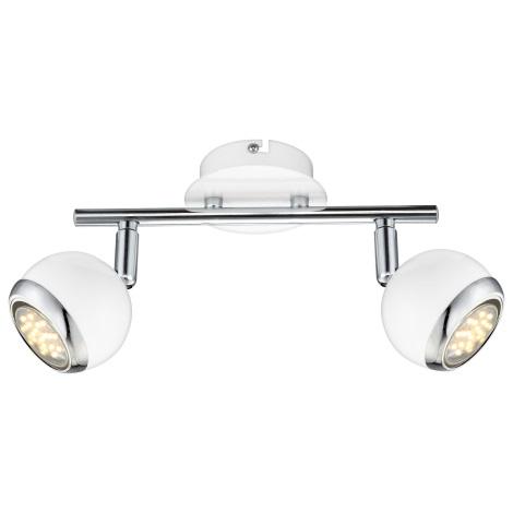 GLOBO 57882-2 - LED Bodové svietidlo OMAN 2xGU10/2,5 W