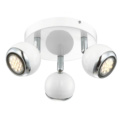 GLOBO 57882-3 - LED Bodové svietidlo OMAN 3xGU10/2,5 W