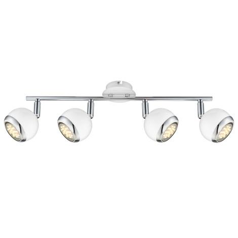 Globo 57882-4 - LED bodové svietidlo OMAN 4xGU10/2,5W/230V