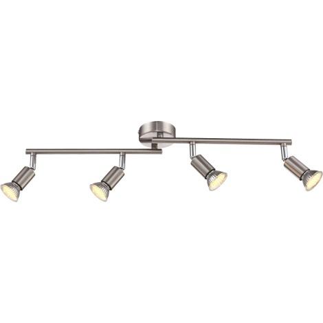 GLOBO 57991-4 - LED stropné svietidlo MATRIX 4xGU10LED/2,3W/230V
