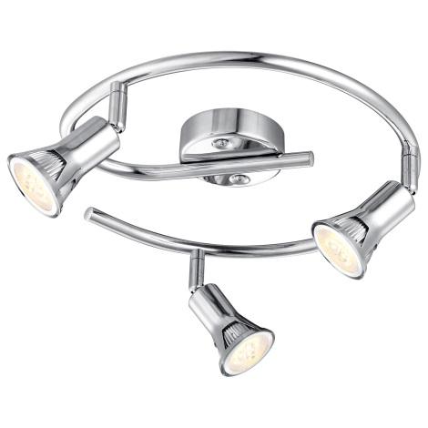GLOBO 57994-3 - LED Bodové svietidlo DANTE 3xGU10LED/3W