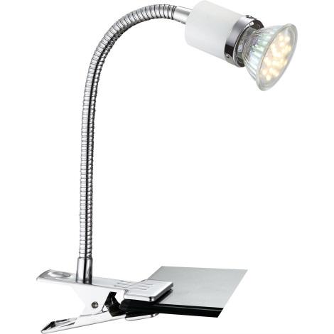 GLOBO 57996-1K - LED stolná lampa FINA 1xGU10LED /2,5W