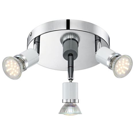 GLOBO 57996-3 - LED Bodové svietidlo FINA 3xGU10LED / 2,5 W