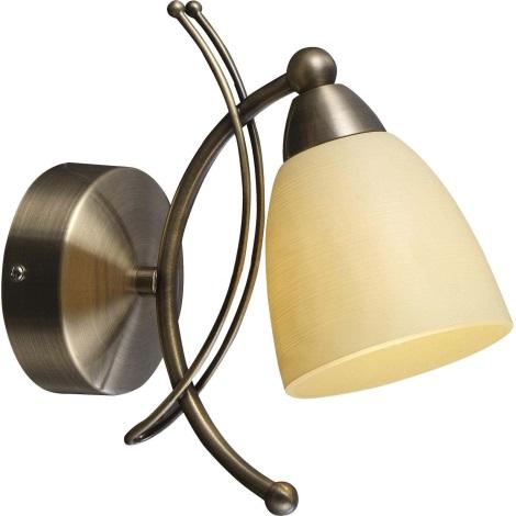 GLOBO 60201W - nástenné svietidlo BUGARA 1xE14/40W