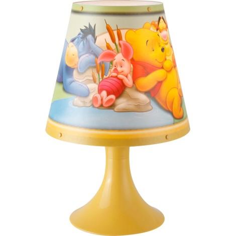 GLOBO 662312 - Stolná lampa WINNIE POOH 1xG24q/10W/230V