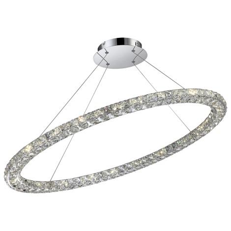 Globo 67038-40 - LED závesné kryštálové svietidlo MARILYN I 1xLED/40W/230V