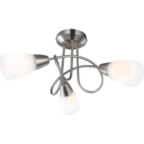 GLOBO 67132-3 - stropné svietidlo INDIRA 3xE14/40W