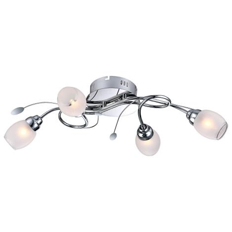 GLOBO 68283-4 - LED Stropné svietidlo BILL 4xG9/33W, 12xLED/0,18 W