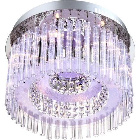 GLOBO 68568-6 - LED Stropné svietidlo JOYCE 6xG4/20W, 76xLED/0,06 W