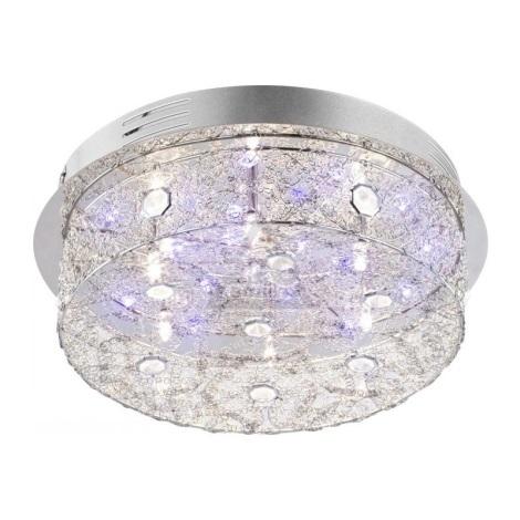 Globo 68625-6 - Stropné svietidlo RETICULI LED 6xG4/20W + 22xLED/0,06W