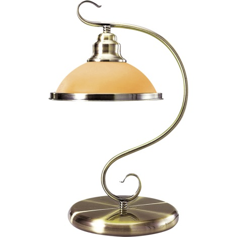 GLOBO 6905-1T - Stolná lampa SASSARI 1xE27/60W