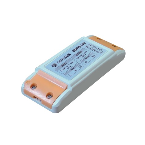 Greenlux GXLD017 - LED Elektrický transformátor 24W/12V