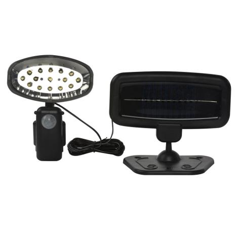 Grundig 25 - LED Solárne svietidlo so senzorom 15xLED/1xAAA