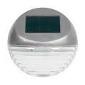 Grundig - LED Solárne nástenné svietidlo 2xLED/1xAA strieborná