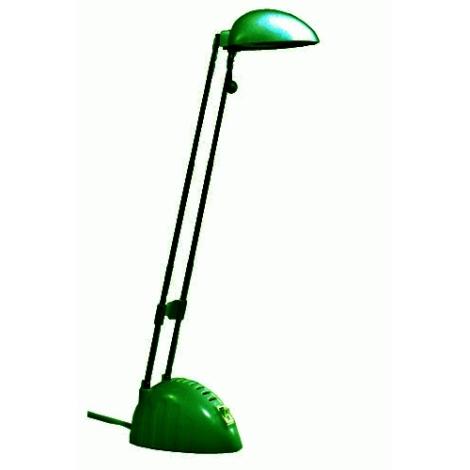 Halogénová stolová lampa BEN 1xG4/20W zelená
