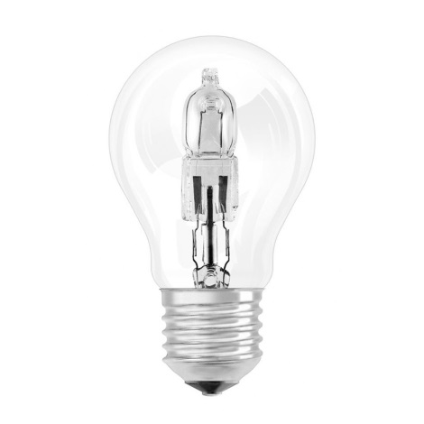 Halogénová žiarovka E27/52W číra