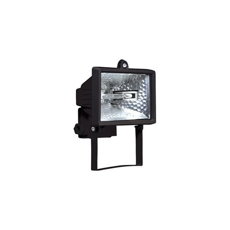 Halogénový reflektor HALO 150B 1xR7s/150W čierna