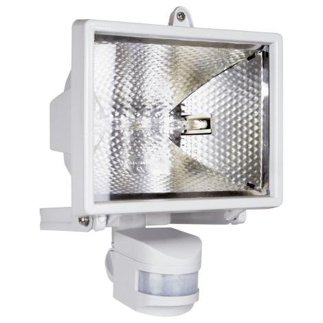 Halogénový reflektor so senzorom ELRO 1xR7s/400W/230V IP44