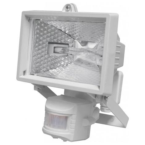 Halogénový reflektor so senzorom HOBBY 1xR7s/120W/230V IP44