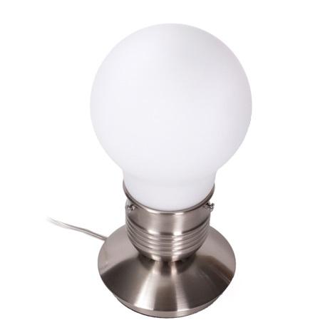 Ideal Lux 012001 - Stolná lampa LUCE 1xE27/60W/230V