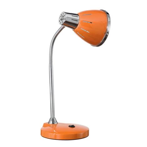 Ideal Lux 015262 - Stolná lampa ELVIS 1xE27/60W/230V oranžová