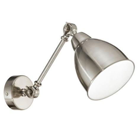 Ideal Lux 016399 - Nástenné svietidlo NEWTON 1xE27/60W/230V