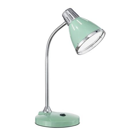 Ideal Lux 026725 - Stolná lampa ELVIS 1xE27/60W/230V zelená