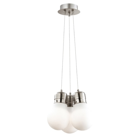 Ideal Lux 082011 - Luster na lanku LUCE 3xE27/60W/230V