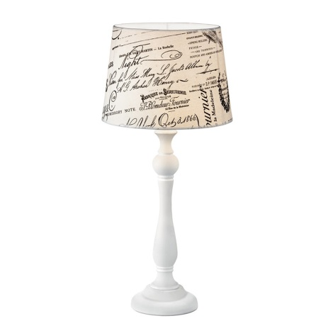 Ideal Lux 092669 - Stolná lampa COFFEE 1xE27/60W/230V