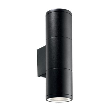 Ideal Lux 100395 - Vonkajšie nástenné svietidlo GUN 2xGU10/35W/230V