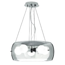 Ideal Lux 103983 - Luster 5xE27/60W/230V