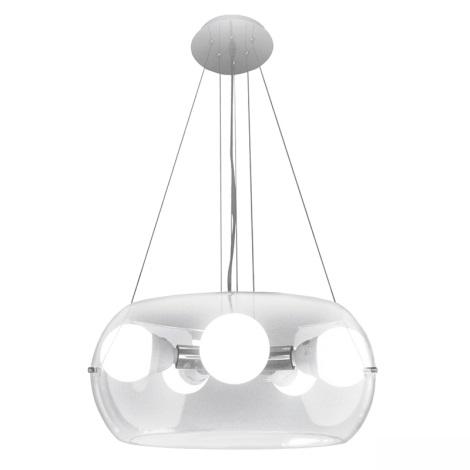 Ideal Lux 16863 - Luster na lanku AUDI-10 SP5 5xE27/60W/230V