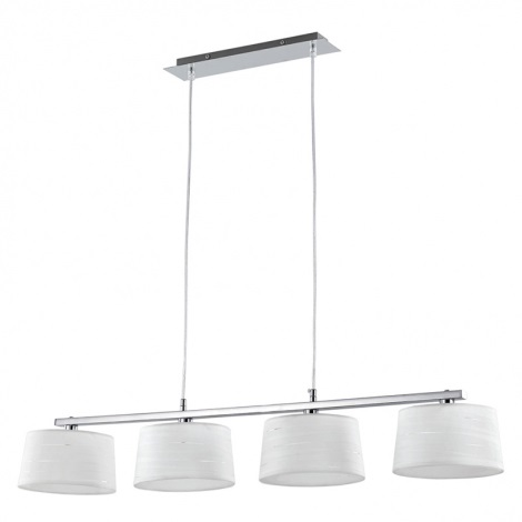 Ideal Lux 75495 - Luster HILTON 4xG9/40W/240V