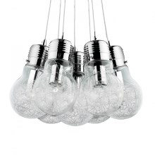 Ideal Lux 81779 - Luster LUCE MAX 7xE27/60W/230V