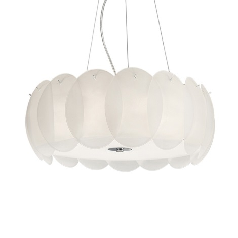 Ideal Lux 90481 - Luster OVALINO 8xE27/60W/230V