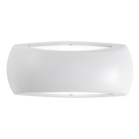 Ideal Lux - Vonkajšie nástenné svietidlo 1xE27/23W/230V biela IP66
