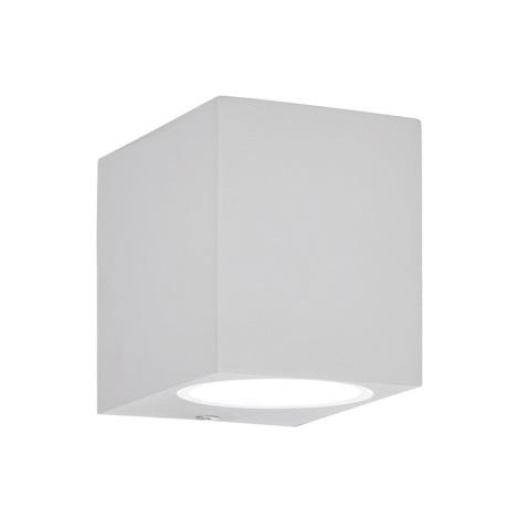 Ideal Lux - Vonkajšie nástenné svietidlo 1xE27/28W/230V biele