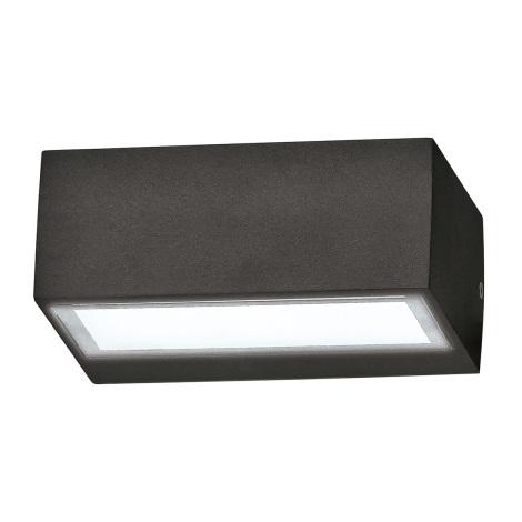 Ideal Lux - Vonkajšie nástenné svietidlo 1xG9/35W/230V