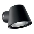 Ideal Lux - Vonkajšie nástenné svietidlo 1xGU10/35W/230V čierna