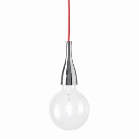 Ideal Lux - Závesné svietidlo 1xE27/42W/230V lesklý chróm
