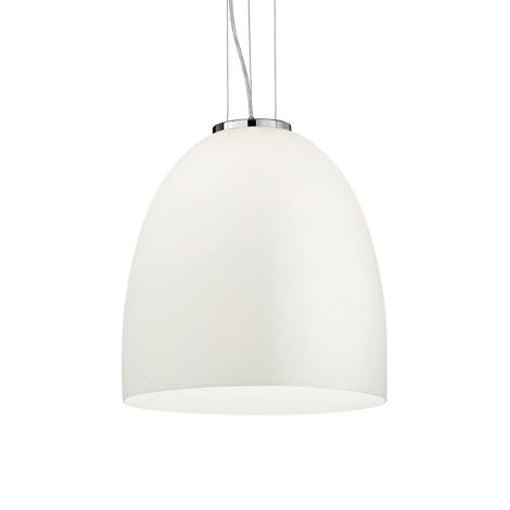 Ideal Lux - Závesné svietidlo 1xE27/60W/230V 400mm biele