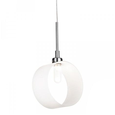Ideal Lux - Závesné svietidlo 1xG9/28W/230V biela