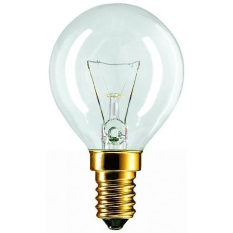 Iluminačná žiarovka E14/60W číra