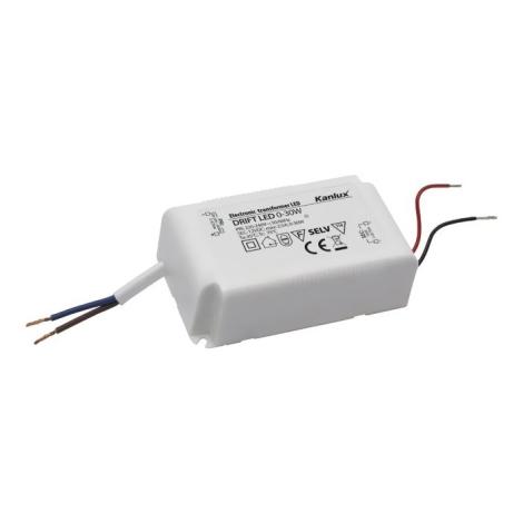 Kanlux 18041 - Elektrický transformátor DRIFT 0-30W/12V