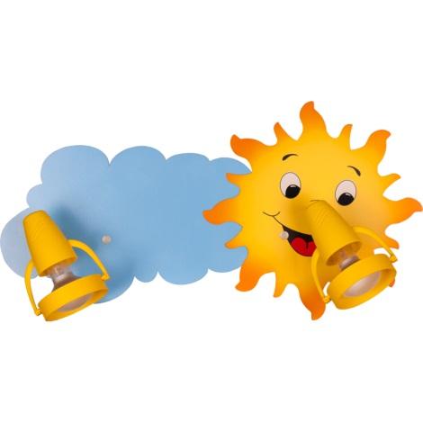 Klik 0118.02 - Stropné svietidlo SUN 2xE14/40W/230V
