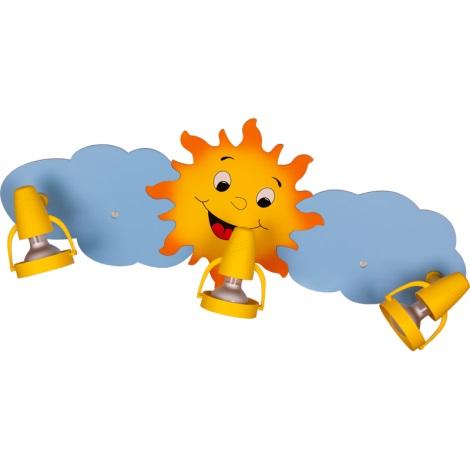 Klik 0118.03 - Stropné svietidlo SUN 3XE14/40W/230V