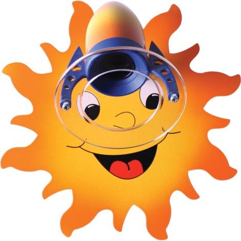 Klik 0119.01 - Nástenné svietidlo SUN E14/40W/230V