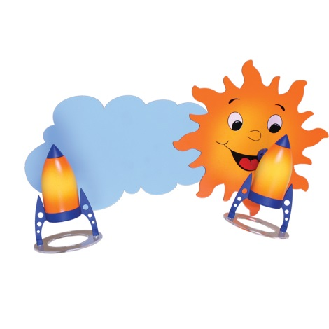 Klik 0119.02 - Stropné svietidlo SUN 2xE14/40W/230V
