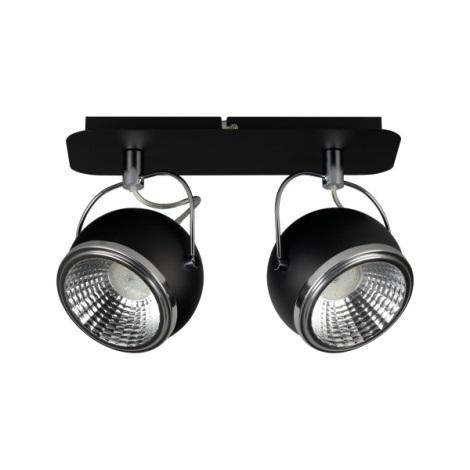 Klik 0162.01 - LED bodové svietidlo BALL 2xGU10/5W/230V