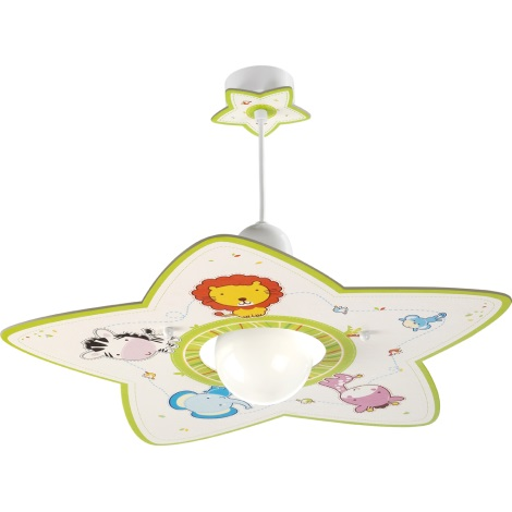 Klik 10112 - Luster LITTLE ZOO E27/60W/230V